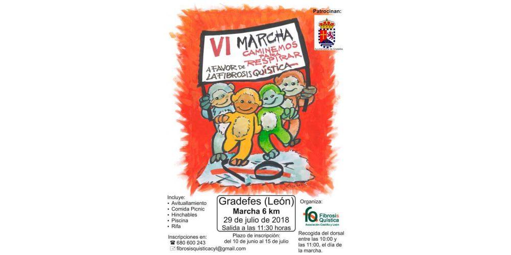 Ya es posible inscribirse en la VI Marcha Caminemos para Respirar, este año en Gradefes (León)