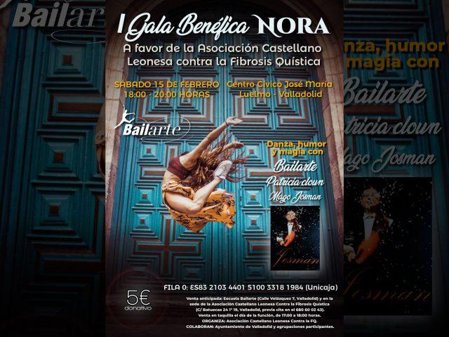 Primera Gala Nora a favor de la Asociación FQCyL, este sábado en Valladolid
