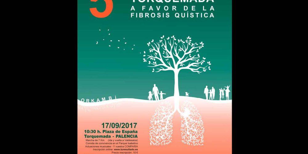 5ª Marcha a Favor de la Fibrosis Quística en Torquemada (Palencia)