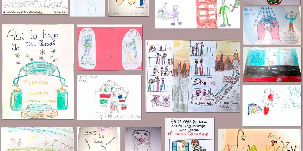 Así lo hacen nuestros niños y niñas: estos son sus dibujos