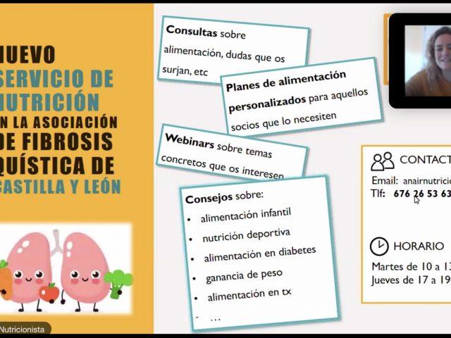 Nuevo servicio de Nutrición en FQCyL